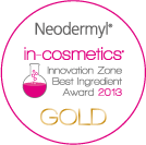in-cosmetics 2013 gold