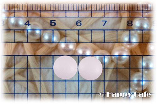 ホワイトショット インナーロック タブレットの錠剤のサイズ